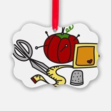 Sewing Supplies Ornament