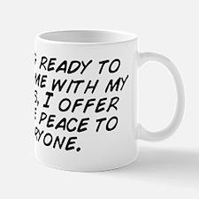 Getting ready to enjoy time with my fri Mug