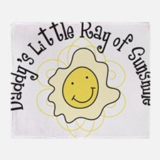 Ray Of Sunshine Throw Blanket
