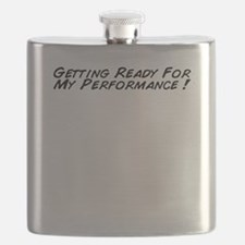 Getting Ready For My Performance ! Flask