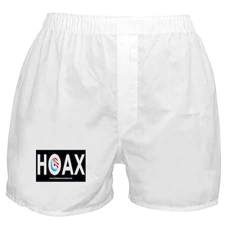 Obama Hoax Boxer Shorts