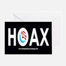 Obama Hoax Greeting Card
