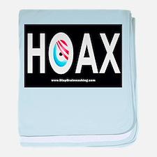 Obama Hoax baby blanket