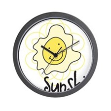 Mr. Sunshine Wall Clock