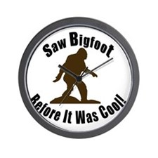 Bigfoot Before It Was Cool! Wall Clock