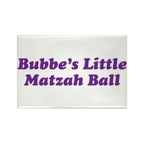 Little Matzah Ball Rectangle Magnet (10 pack)