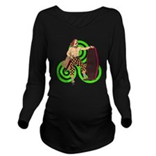 Celtic Warrior Long Sleeve Maternity T-Shirt