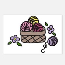Knitting Yarn Postcards (Package of 8)