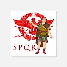 "Caesar Square Sticker 3"" x 3"""