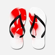 45 Adapter Graffiti Flip Flops