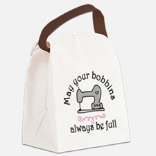 May Your Bobbins Canvas Lunch Bag