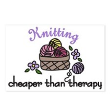 Cheaper Than Therapy Postcards (Package of 8)