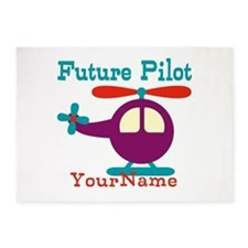 Future Pilot - Personalized 5'x7'Area Rug