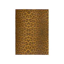 Leopard Skin 5'x7'Area Rug