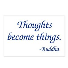 Thoughts Become Things Postcards (Package of 8)