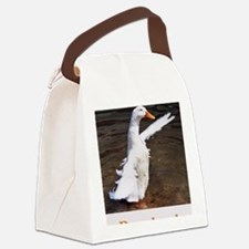 Bye, Bye Duck Canvas Lunch Bag