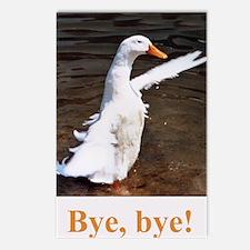 Bye, Bye Duck Postcards (Package of 8)