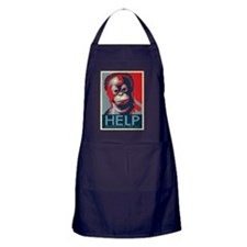 HELP The Orangutan Project Apron (dark)