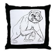 Noble Ape 2012 Throw Pillow
