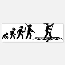 Paddle-Surfing-AAH1 Bumper Bumper Sticker