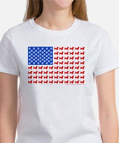 Dachshund USA - Patriotic Flag T-Shirt