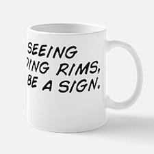 I keep seeing people riding rims, this  Mug