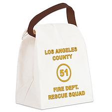 LA County 51 Canvas Lunch Bag