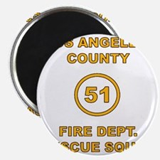 LA County 51 Magnet