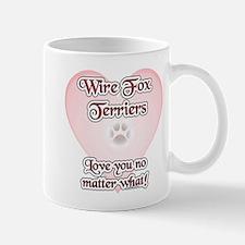 Wire Fox Love U Mug