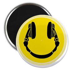 Headphone Smilie Magnet