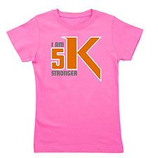 5K Stronger Girl's Tee