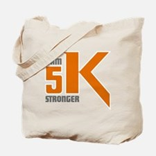5K Stronger Tote Bag