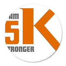 5K Stronger Round Car Magnet