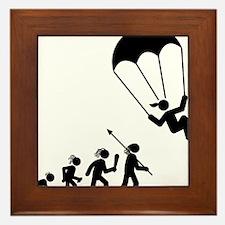 Parachuting-AAH1 Framed Tile