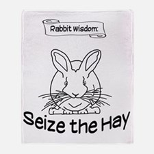 Seize the Hay Throw Blanket