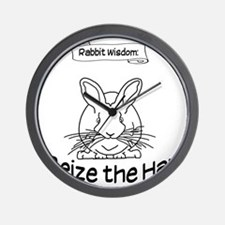 Seize the Hay Wall Clock