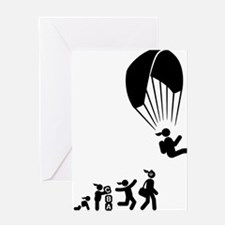 Paragliding-AAI1 Greeting Card