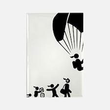 Paragliding-AAI1 Rectangle Magnet