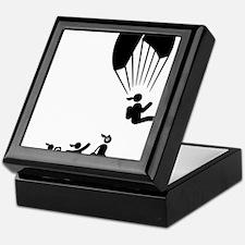 Paragliding-AAI1 Keepsake Box