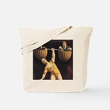 Weightlifting Old School Tote Bag