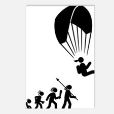 Paragliding-AAH1 Postcards (Package of 8)