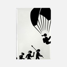 Paragliding-AAH1 Rectangle Magnet