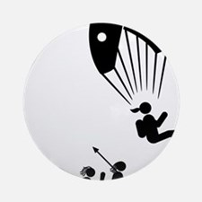 Paragliding-AAH1 Round Ornament