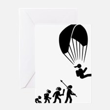 Paragliding-AAH1 Greeting Card
