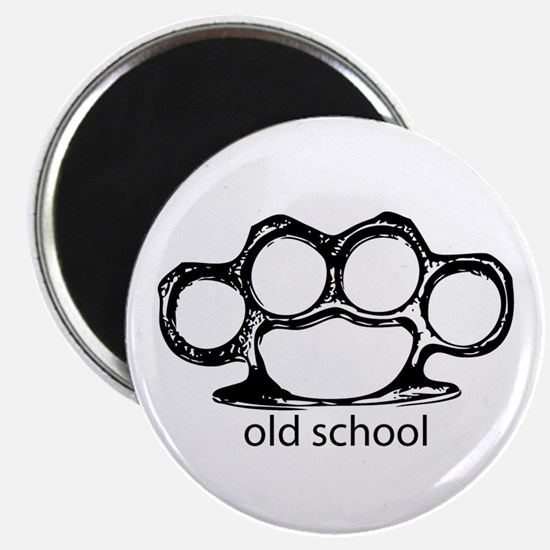 Old School Knucks Magnet