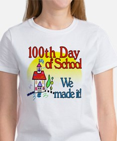 100th Day Schoolhouse Tee