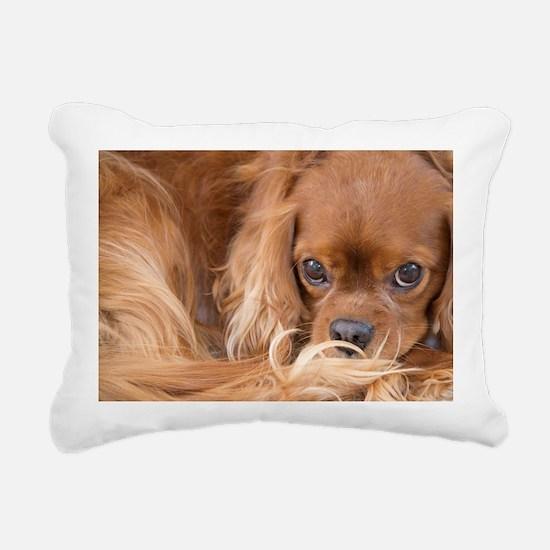 Sweet Friend Ruby Cavali Rectangular Canvas Pillow