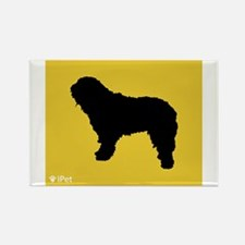 Bergamasco iPet Rectangle Magnet (100 pack)