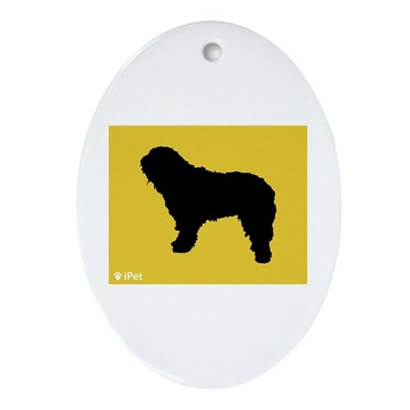 Bergamasco iPet Oval Ornament