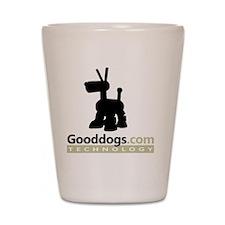 Gooddogs 2013 Logo Shot Glass